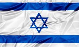 Vlag van Israël vector illustratie