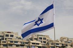Vlag van Israël royalty-vrije stock foto's
