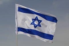 Vlag van Israël royalty-vrije stock afbeelding