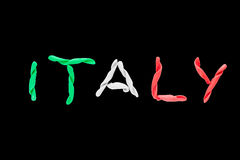 Vlag van Italië Royalty-vrije Stock Fotografie