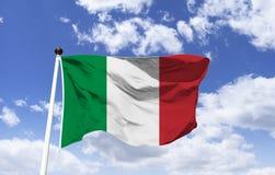 Vlag van Italië, eigentijds formaat stock foto's