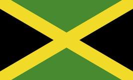 Vlag van Jamaïca Stock Foto's