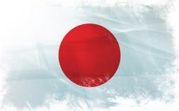 Vlag van Japan Royalty-vrije Stock Foto