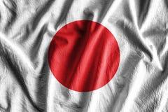 Vlag van Japan Royalty-vrije Stock Afbeelding