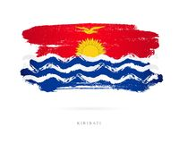 Vlag van Kiribati Abstract concept Stock Foto's