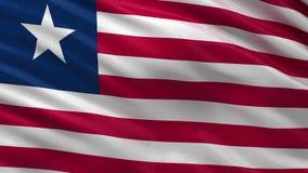 Vlag van Liberia - naadloze lijn royalty-vrije illustratie