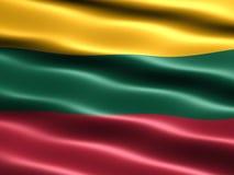 Vlag van Litouwen Royalty-vrije Stock Foto