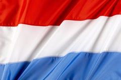 Vlag van Luxemburg Royalty-vrije Stock Afbeelding