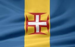 Vlag van Madera vector illustratie