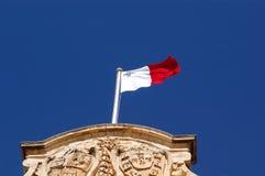 Vlag van Malta Royalty-vrije Stock Fotografie
