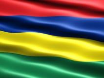Vlag van Mauritius Royalty-vrije Stock Fotografie