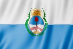 Vlag van Mendoza-Provincie, Argentinië Royalty-vrije Stock Foto's