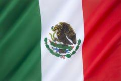 Vlag van Mexico Stock Afbeelding