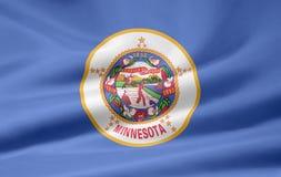 Vlag van Minnesota vector illustratie