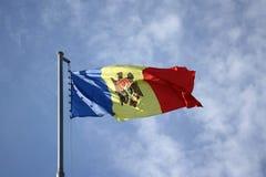 Vlag van Moldova stock foto's