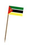 Vlag van Mozambique Stock Foto