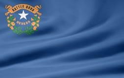 Vlag van Nevada vector illustratie
