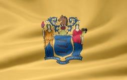 Vlag van New Jersey royalty-vrije illustratie