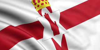 Vlag van Noord-Ierland Royalty-vrije Stock Fotografie