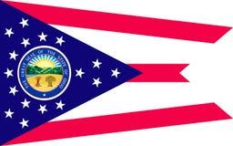Vlag van Ohio, de V.S. royalty-vrije stock foto