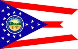 Vlag van Ohio, de V.S. stock afbeelding