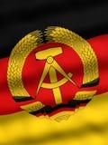 Vlag van Oost-Duitsland Stock Afbeelding