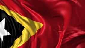Vlag van Oost-Timor royalty-vrije illustratie