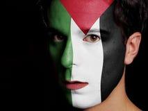 Vlag van Palestina Stock Fotografie