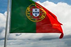 Vlag van Portugal Stock Foto's