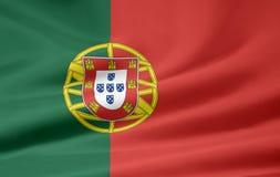 Vlag van Portugal royalty-vrije illustratie