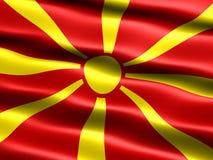 Vlag van Rep. van Macedonië Royalty-vrije Stock Fotografie