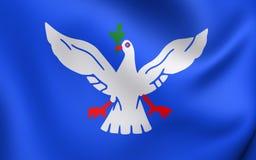 Vlag van Salvador City, Brazilië Royalty-vrije Stock Afbeelding