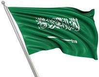 Vlag van Saudi-Arabië vector illustratie