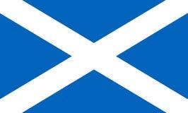 Vlag van Schotland stock foto