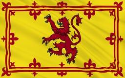 Vlag van Schotland, het Verenigd Koninkrijk van Groot-Brittannië Stock Afbeeldingen