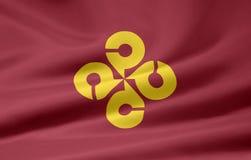 Vlag van Shimane - Japan Royalty-vrije Stock Foto's