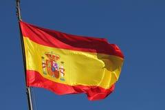 Vlag van Spanje Royalty-vrije Stock Foto's