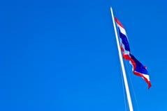 Vlag van Thailand Royalty-vrije Stock Afbeeldingen