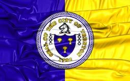 Vlag van Trenton City New Jersey, de V.S. Royalty-vrije Stock Fotografie