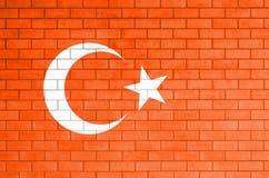 Vlag van Turkije Stock Afbeeldingen