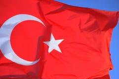 Vlag van Turkije Royalty-vrije Stock Fotografie