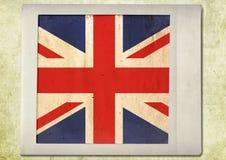 Vlag van uitstekende onmiddellijke foto Royalty-vrije Stock Afbeelding