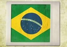 Vlag van uitstekende onmiddellijke foto Royalty-vrije Stock Fotografie