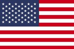Vlag van Verenigde Staten, Amerikaanse vlag Stock Fotografie