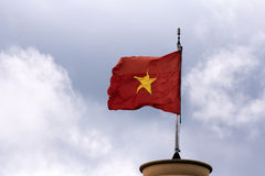 Vlag van Vietnam Royalty-vrije Stock Fotografie