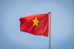Vlag van Vietnam Stock Afbeeldingen