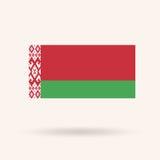 Vlag van Wit-Rusland Stock Foto's