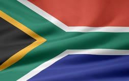 Vlag van Zuid-Afrika vector illustratie