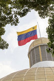Vlag Venezuela Stock Foto