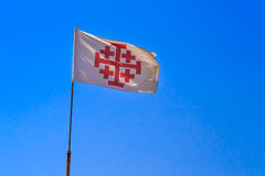 Vlag voor de rooms-katholieke kerk royalty-vrije stock fotografie